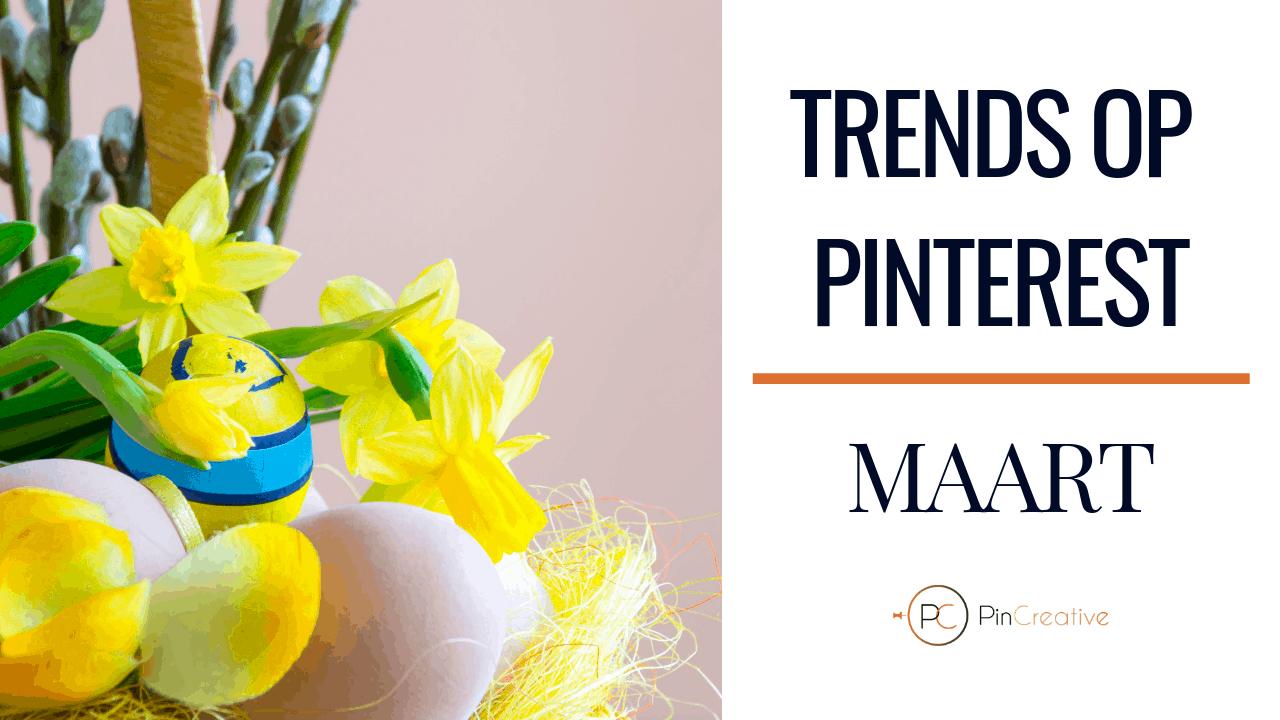 Wat zijn de Pinterest marketing trends maart