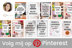 Volg PinCreative op Pinterest voor de leukste pins over pInterest, marketing en tips